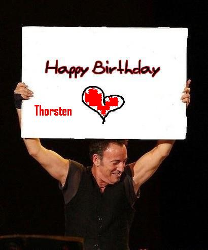 Birthday Cake Bruce Springsteen
