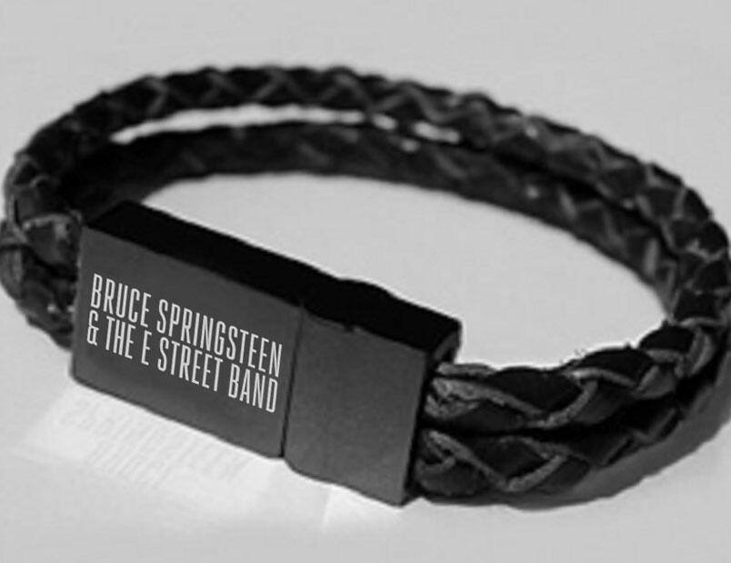 Wristband   German Tramps  die deutsche Bruce Springsteen Fan